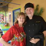 Claudia and Sam of The Tropical Grill in Spruce Pine, N.C.