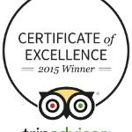 CERTIFICATE OF EXCELLENCE!!!