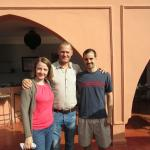 With John (center), riad owner (actually, co-owner, but Elizabeth was not there for our visit!)
