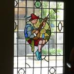 Wonderful original stained glass window