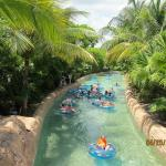 Lazy river at Atlantis resort
