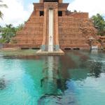 """Leap of faith"" slide at Atlantis"