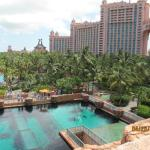 Atlantis resort sharks pool