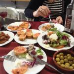 Restaurant close by - tasty tapas food