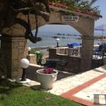 View to Zante from the snack bar
