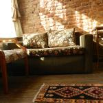 Sofa bed in Triple room