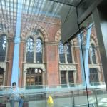 Outside of the Booking Office Restaurant from inside train station