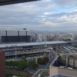 View of Shin-Osaka Station from my hotel room!