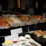 Glass Court buffet