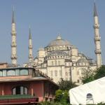 Blue Mosque from Terrace - day