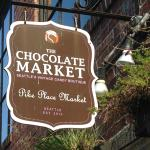 You're a two-minute walk to the CHOCOLATE MARKET! Sorry for the all-caps, but it was delicious.