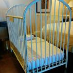 Antique cot