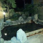 Open-air private onsen