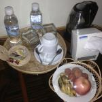Welcome fruits and complimentary water