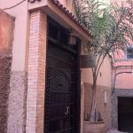 Entrance to Riad