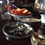 Happy Hour Seafood Tower for 3