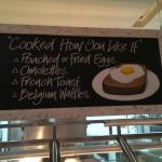 What a brilliant idea - this makes it clear you can have a boutique egg experience at the Novote