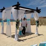 Oceanside Wedding Cabana
