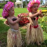 My twins enjoying The Grand Wailea to the fullest