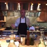 Amazing cooking class with Chef Vinson -