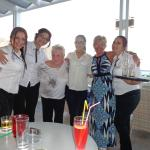 some of the lovely waitresses in the bar