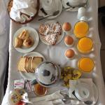 Free breakfast delivered to your room or to eat on the terrace. The terrace has amazing views. T