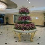 Lobby Orchid Display