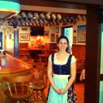 Friendly, knowledgeable and delightful servers in authentic Bavarian dress.