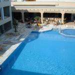 The Swimming Pool at the Mythos Hotel