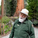 Ranger Frank Helling talked about the Grant Grove...fascinating!