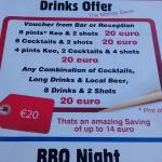 Meal Deal + Drinks Offer