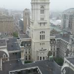 View of old city hall from room 2217