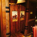 Wilderness Lodge Yosemite VP Suite Swinging Doors into Kitchenette