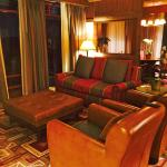 Wilderness Lodge Yosemite VP Suite Living Area with Sofa Bed