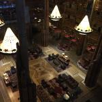 Wilderness Lodge View into Lobby from 7th Floor
