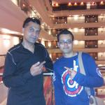 With International Star APACHE INDIAN at Le Meridien