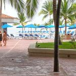 Beach front pools are well maintained and clean.