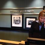 Check in with Savannah at the GR Airport Hampton Inn