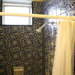 Shower, Bathroom had a window, very nice for ventilation