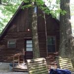 Back of cabin