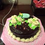 Birthday cake by Aonang Orchid Resort