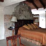 The rooms are a combination of stunning ancient ruins and modern comforts