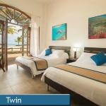 Twin Room with Beach Access