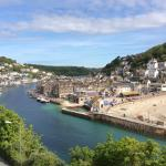 Views from our Fowey room  balcony