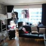haha~~ embrassing home feel