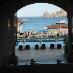 View from hotel lobby