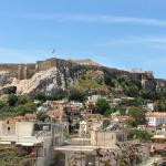 Day view of Acropolis from the hotel