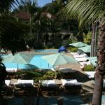 View of pool from room 424