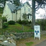 Glengarry House in Tyndrum, so good that it's even marked on The West Highland Way map!