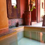 The little pool at the Riad